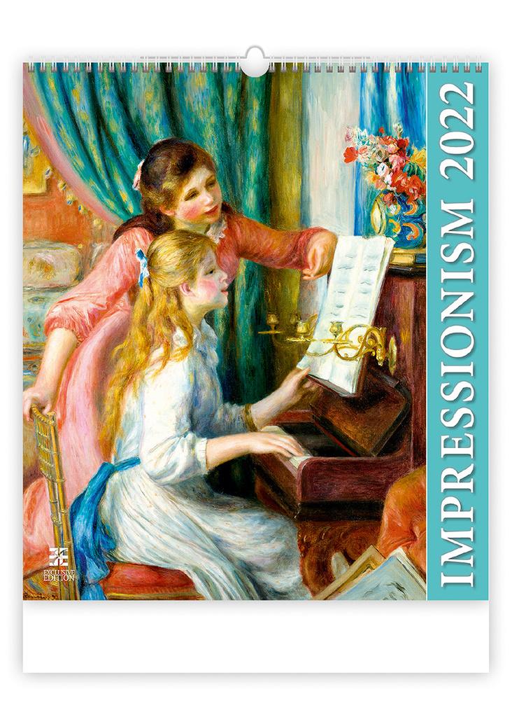 Kalendář nástěnný Exclusive Edition - Impressionism / N255
