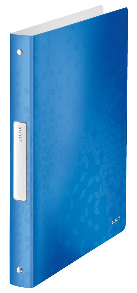Desky A4 kroužkové Leitz WOW - 4 - kroužek   modrá c54be070e98