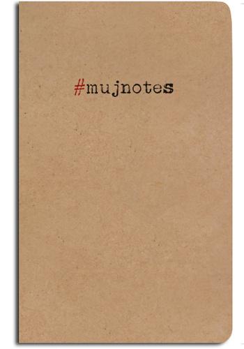 Notes linkovaný - A5 - kraft - #mujnotes