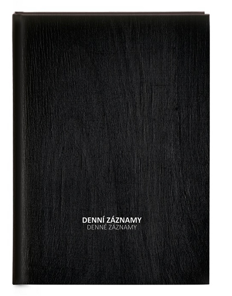 Denní záznamy A4 - černá