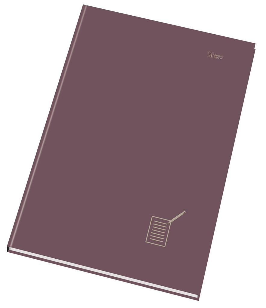 Kniha záznamní šitá Papírny Brno - A5 / čistý / 96 listů