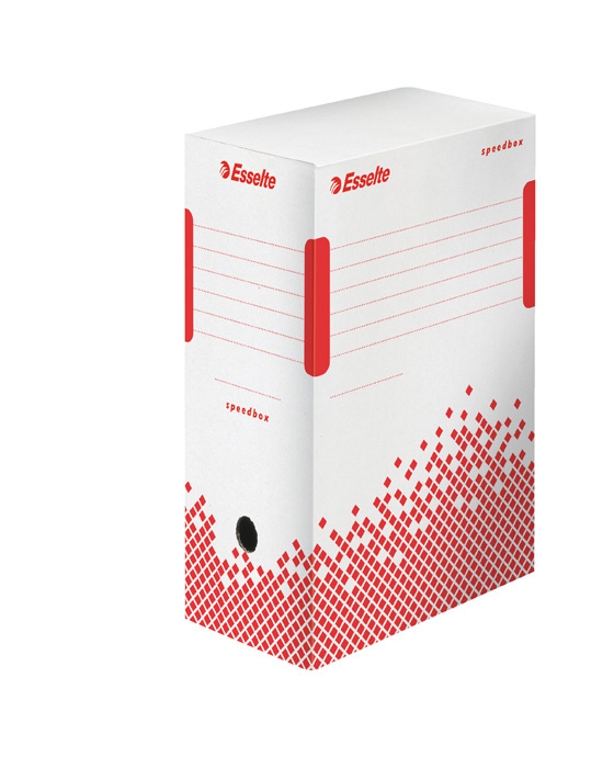 Archivní box Esselte Speedbox - hřbet 15 cm / bílá