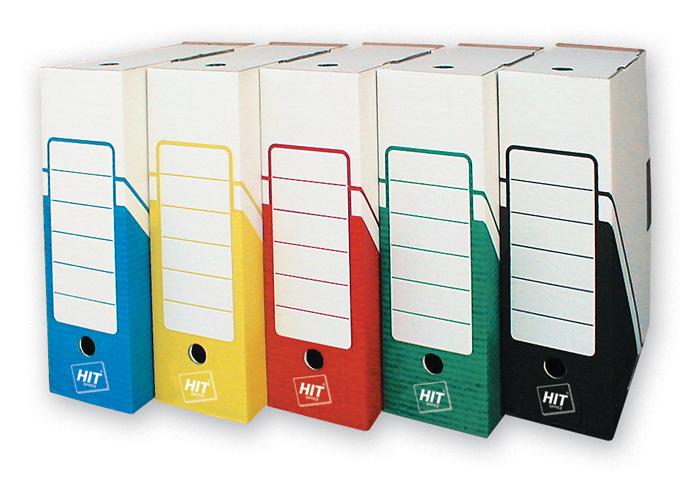 Box archivní A4 - hřbet 10 cm / červená