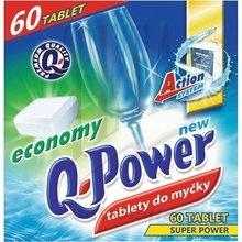 Prostředky do myčky Q-Power - tablety 60 ks