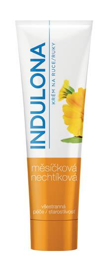 Krém na ruce Indulona - oranžová / měsíčková / 85 ml