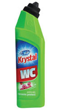 Krystal WC zelený gel 750 ml