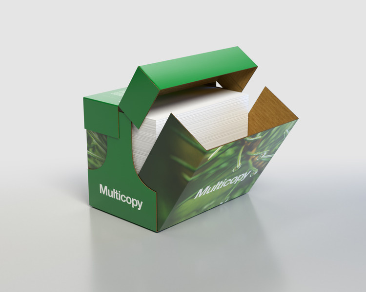 Xerografický papír Multicopy - A4 80 g / 2500 listů / Xpressbox