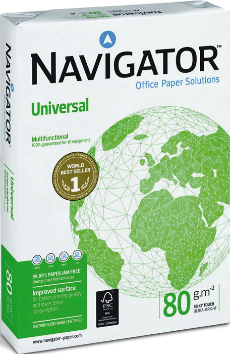 Xerografický papír Navigator Universal - A4 80 g / 500 listů