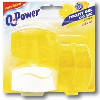 Q-Power WC citron 3 x 55 ml