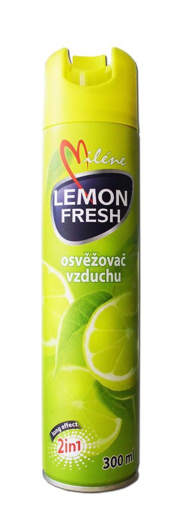Osvěžovače spray Miléne - citron