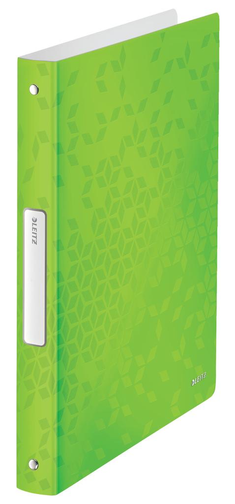 Desky A4 kroužkové WOW - 4 - kroužek / zelená