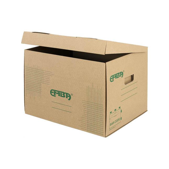 Úložný box Emba - přírodní hnědá / TYP UB1
