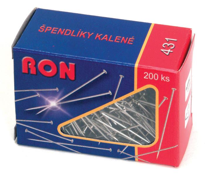 Špendlíky RON - 200 ks
