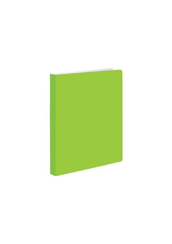 Kroužkové záznamníky Karis PVC Office - A5 / pastelová zelená