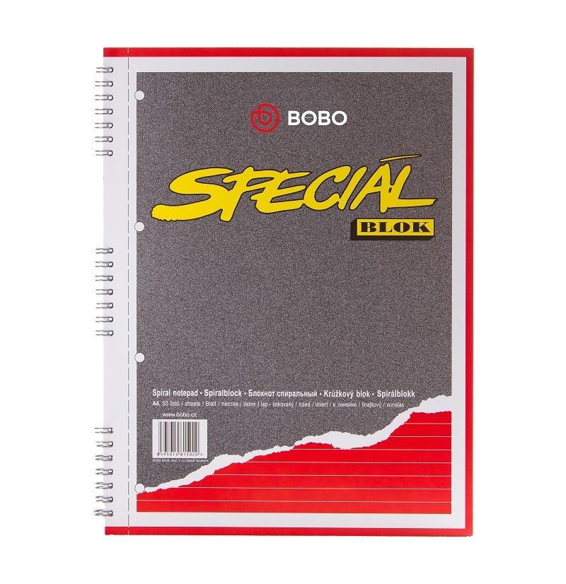 Blok BOBO speciál - A4 / linka