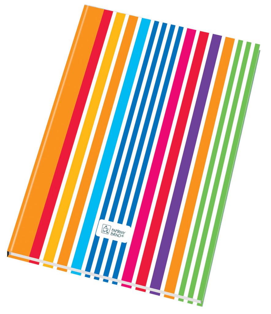 Kniha záznamní šitá Papírny Brno - A4 / linka / 192 listů