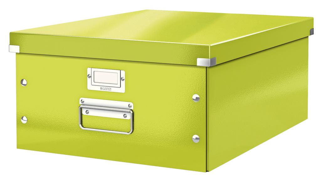 Krabice Leitz Click & Store - L velká / zelená