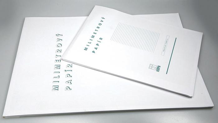 Milimetrový papír - blok A3 / 50 listů