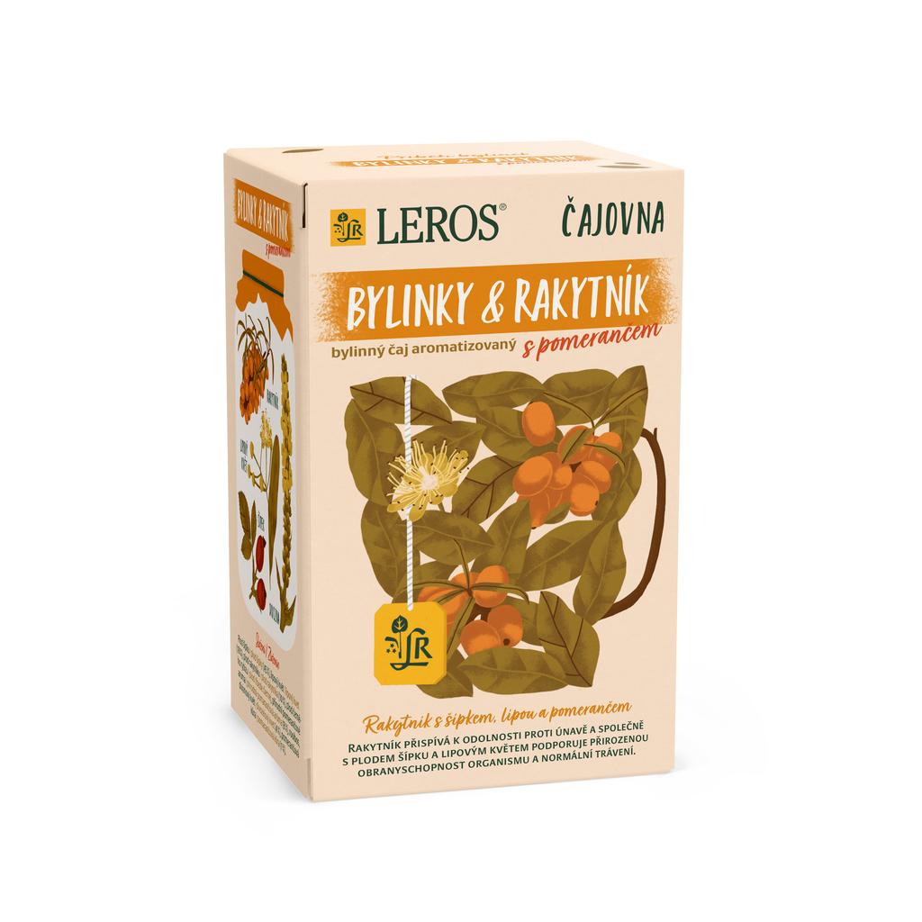Čaj Leros Vital -  Rakytník a pomeranč