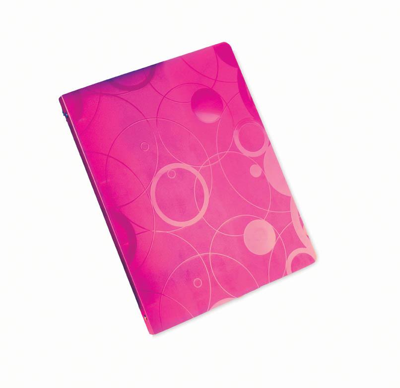 Desky A4 kroužkové NeoColori - 4 - kroužek   růžová 89c9a88122a