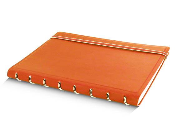 Poznámkový blok Filofax Notebook - A5 / oranžová