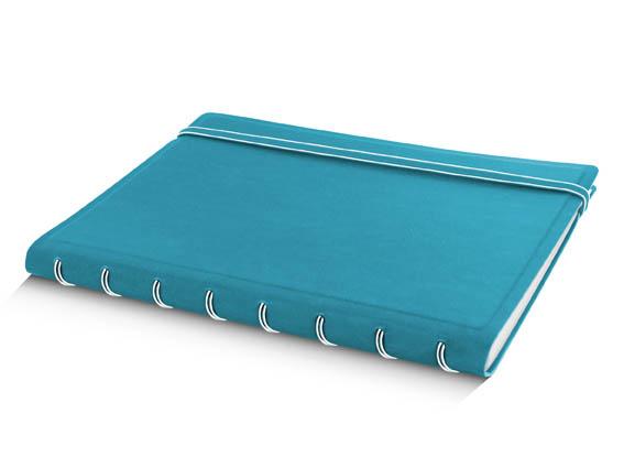 Poznámkový blok Filofax Notebook - A5 / tyrkysová