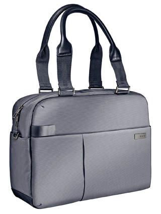 25811d685 Dámská taška na notebook Leitz Complete - stříbrná / 13,3