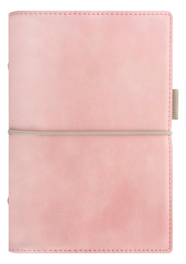 Diář Filofax Domino Soft - A6 osobní týdenní pastelová růžová