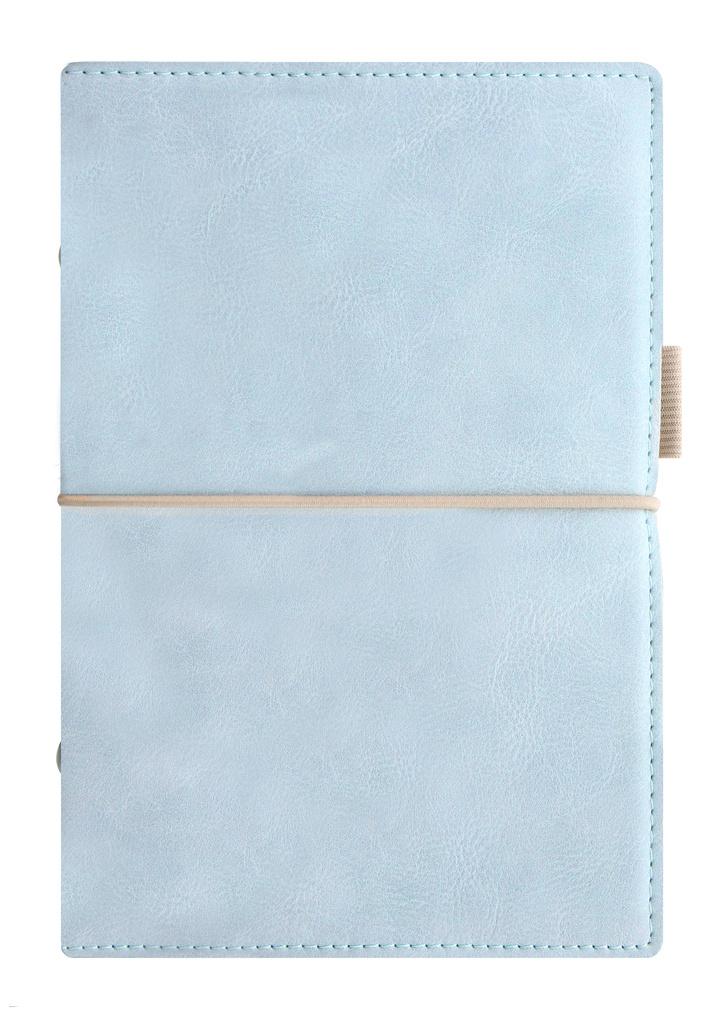 Diář Filofax Domino Soft - A6 osobní týdenní pastelová modrá
