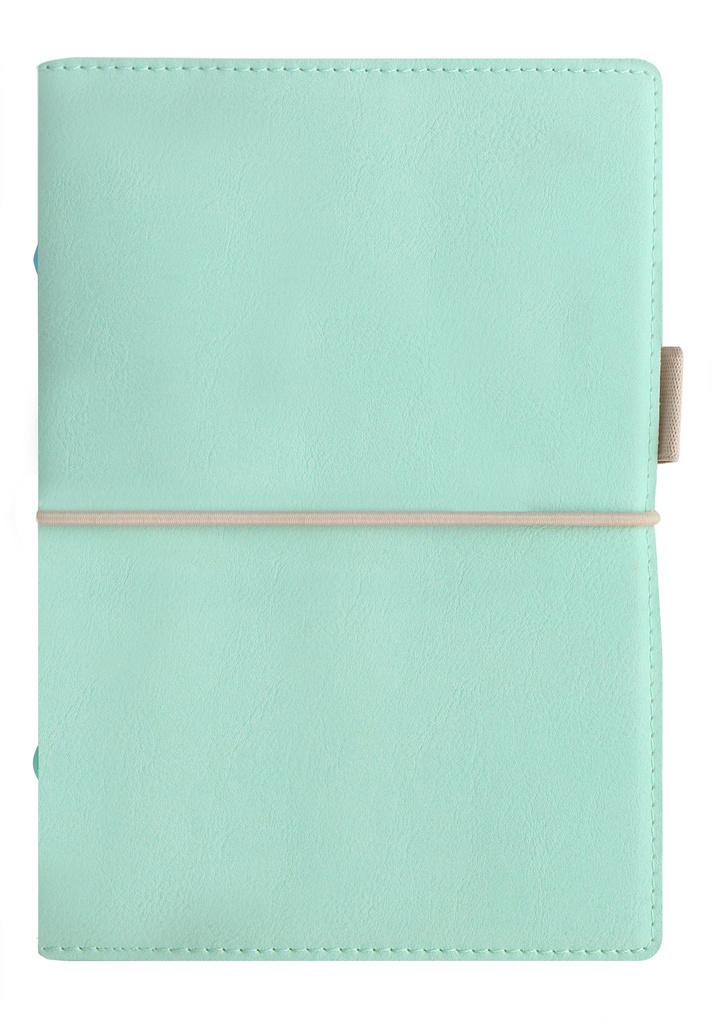 Diář Filofax Domino Soft - osobní / 95 x 171 mm / pastelová zelená