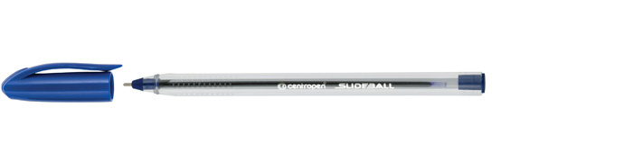 Kuličkové pero Centropen Slide ball 2215 - modrá