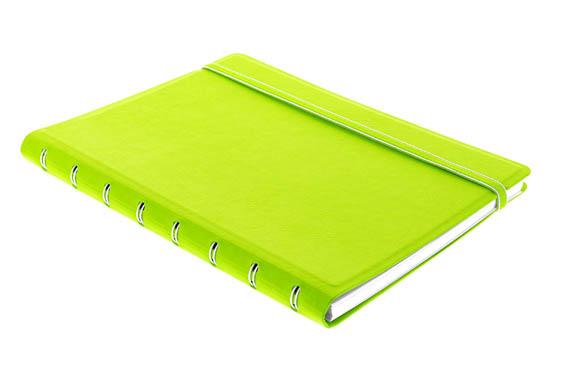 Poznámkový blok Filofax Notebook - A5 / limetková