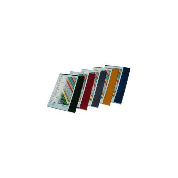 Desky pro kroužkovou vazbu přední strana - A4 / červená / 100 ks