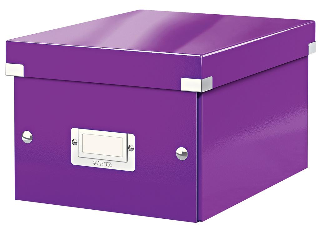 Krabice Leitz Click & Store - S malá / fialová