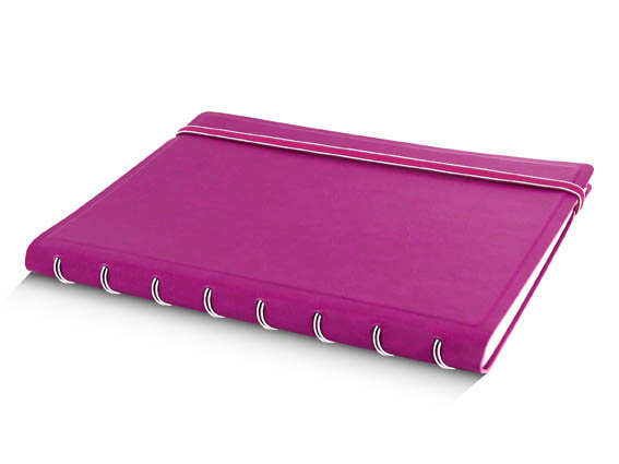 Poznámkový blok Filofax Notebook - A5 / fuchsiová