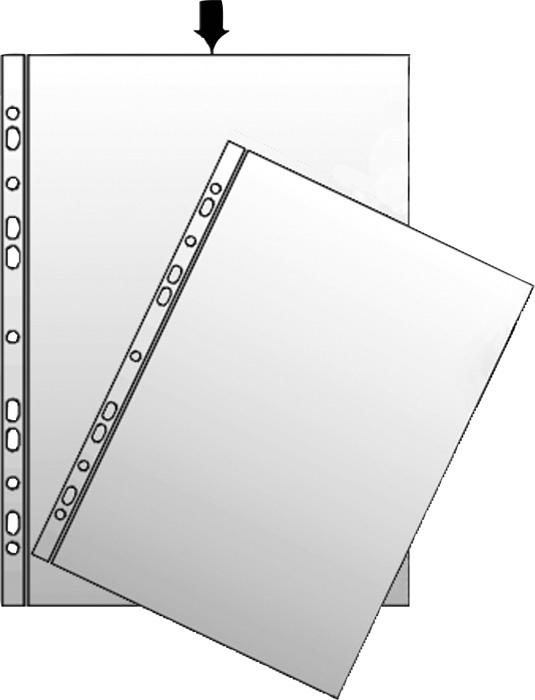 Závěsný obal A4 silný - čirá / 150 my / 100 ks