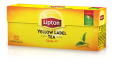 Čaj Lipton Yellow Label  -  25 sáčků