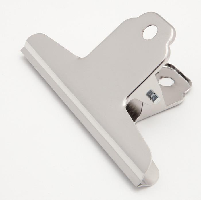 Klipy kovové stříbrné - 145 mm