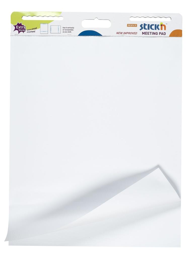Samolepicí flipchart Stick´n by Hopax - bílá / 30 listů