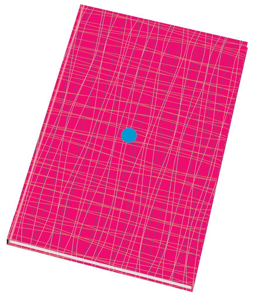 Kniha záznamní šitá Papírny Brno - A5 / čtvereček / 96 listů