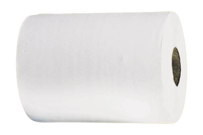 Ručníky v rolích Merida AUTOMATIC Maxi - bílé / jednovrstvý recykl / 250 m