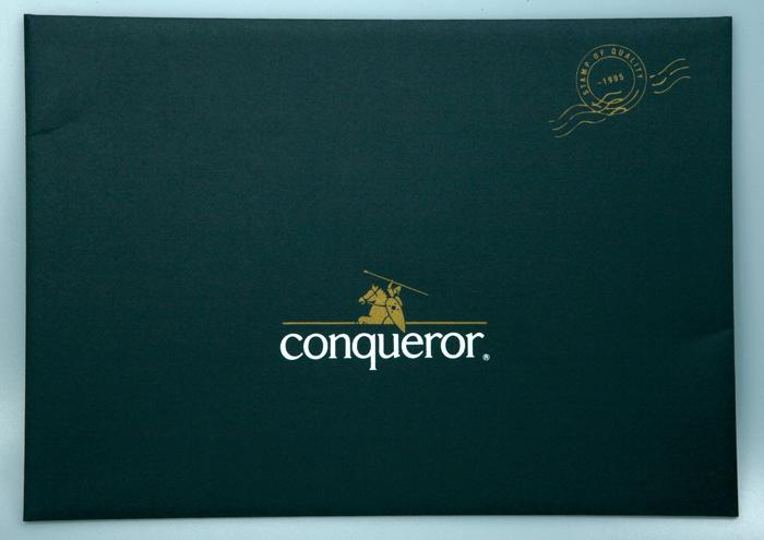 Papíry Conqueror A4 žebrované - papír bílý / 500 listů