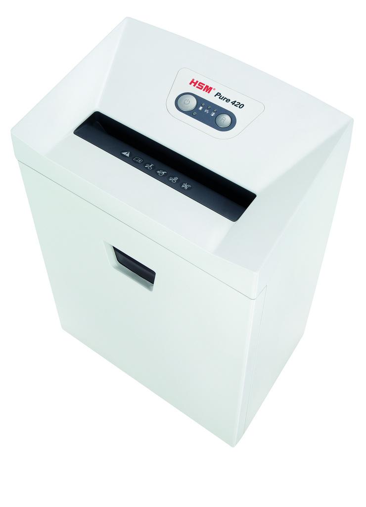 Skartovací stroje HSM Pure 420 - velikost řezu 1,9 x 15 mm