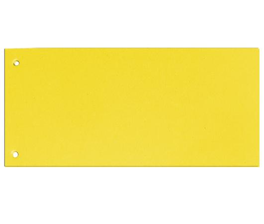 Rozdružovací kartonové jazyky  - žlutá / 100 ks