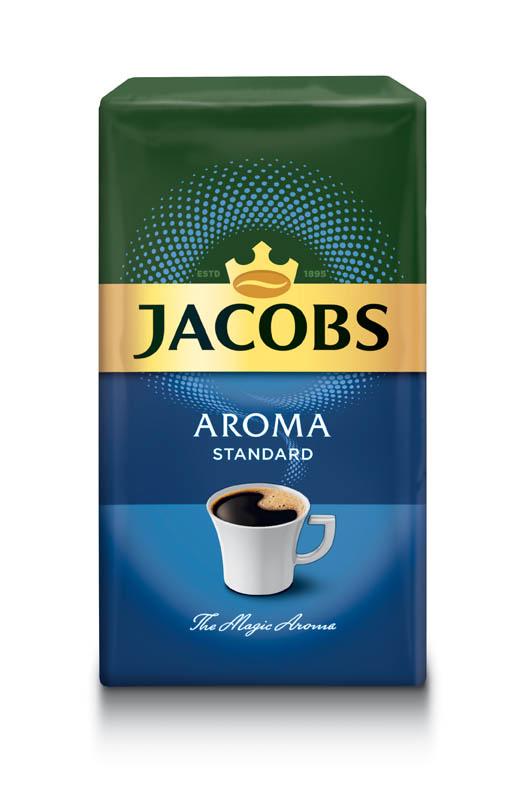 Káva Jacobs Aroma Standard - mletá / 250 g