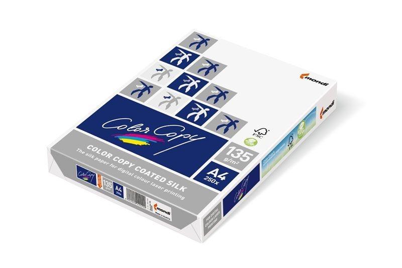 Xerografický papír ColorCopy - A4 135 g / 250 listů Coated Silk