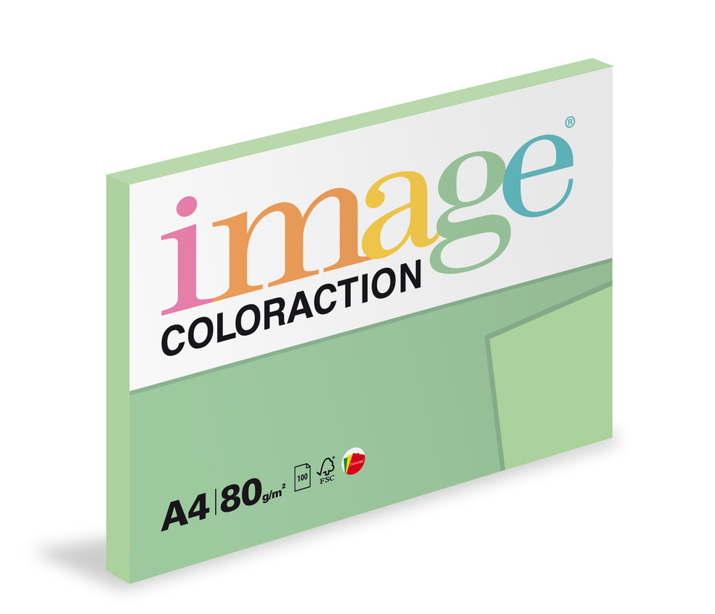 Xerografický papír BAREVNÝ - Forest / pastelově zelená /100 listů / MG28
