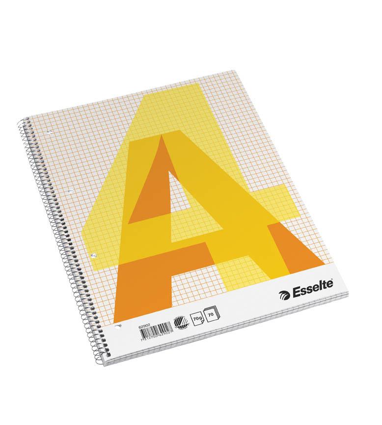 Blok Esselte - A4 / čtvereček / 70 listů