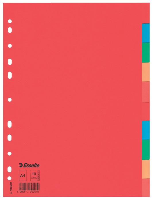 Rozdružovač A4 kartonový Esselte - 10 listů