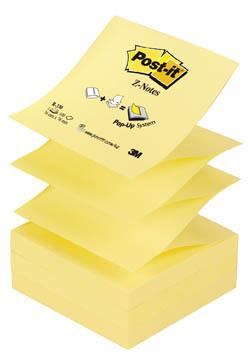 Samolepicí bločky Post-it - Z bločky - žlutá / 100 lístků